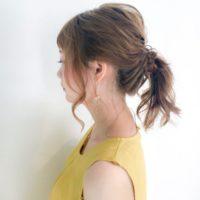 セミロングの髪型&アレンジ特集!浴衣や結婚式のお呼ばれにピッタリのヘアスタイルもご紹介