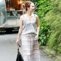 サラリと着こなす!今年の夏は、大人のサマードレスで夏コーデ♪