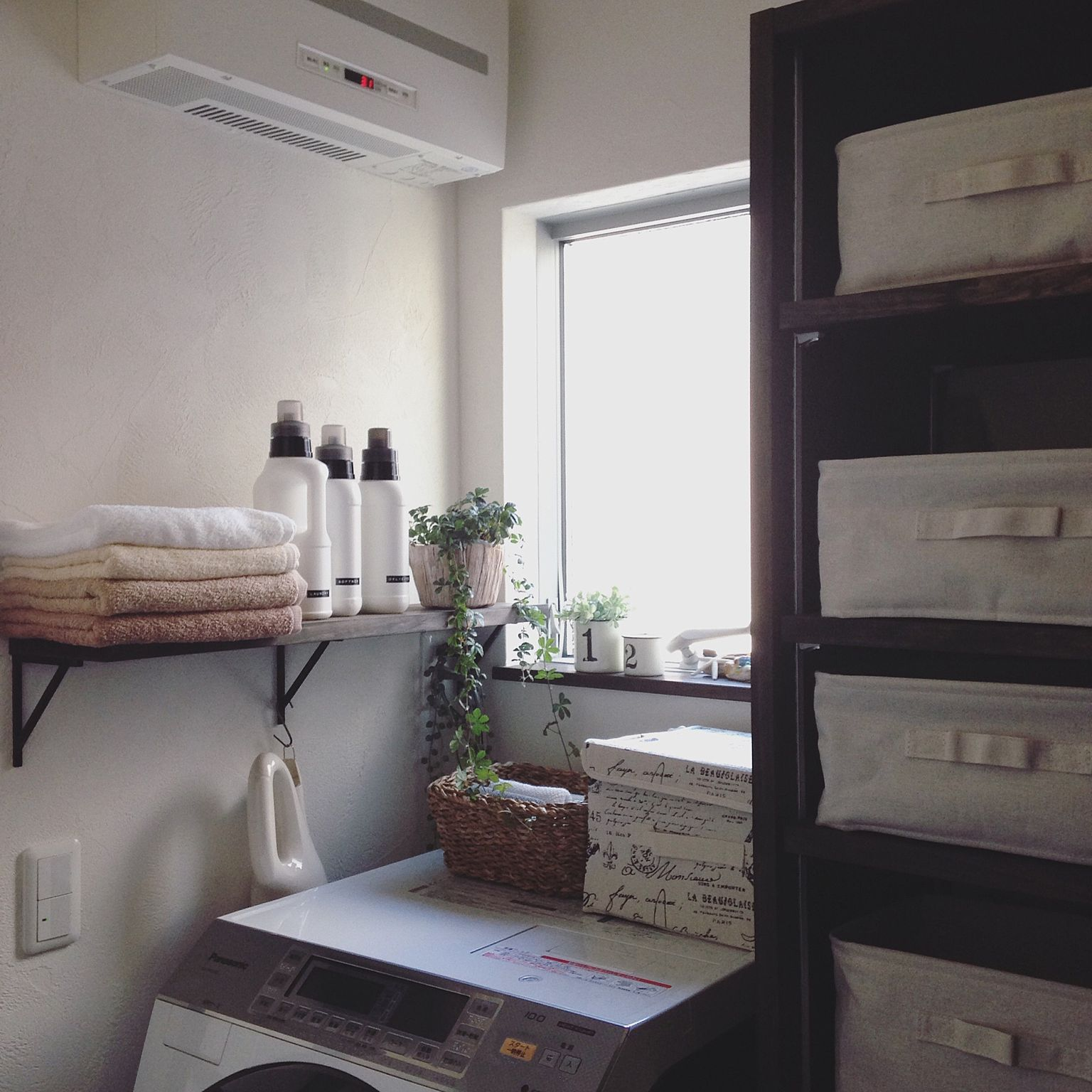 棚を使用した収納例3