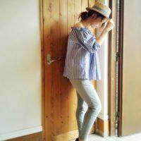 GUのスウェットパンツで夏のラフスタイルを☆大人ラフはGUのスウェットパンツで!
