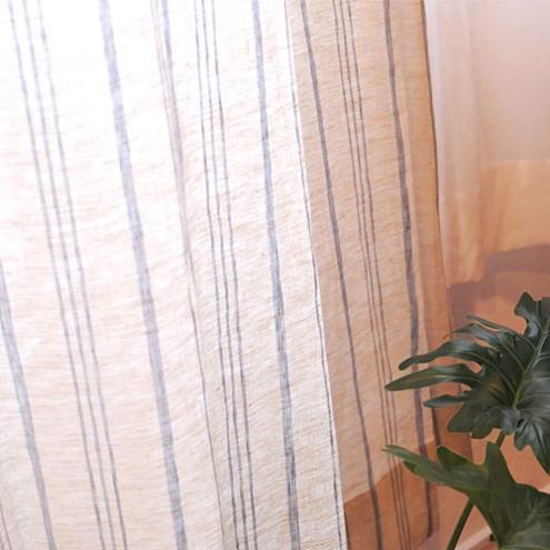 ナチュラル&シンプルなカーテンでお洒落なお部屋に4