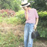 マリンコーデをおしゃれに着こなしたい☆夏だけの楽しみ!おしゃれなマリンコーデ20選