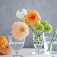 少しの工夫で違う雰囲気に!花と花器の素敵な組み合わせをご紹介☆