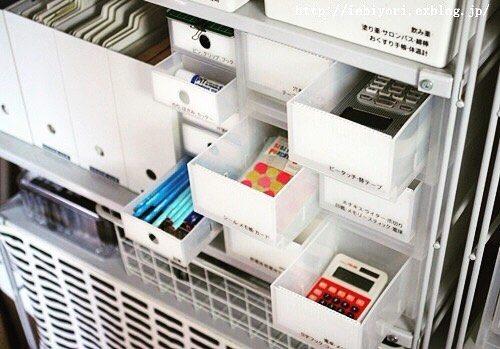 文房具の収納は無印良品&100均のアイテムで2