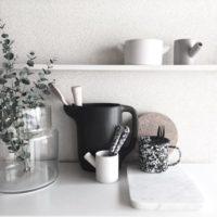 白黒はっきり!キッチンをお洒落なモノトーンインテリア空間に☆