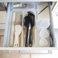 キッチンがスッキリ&使い勝手UP♪無印良品のアイテムを使った収納術!