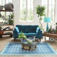 綺麗なブルーが涼やか♪夏のインテリアにブルーを取り入れて清々しく過ごそう!