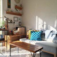 夏は涼しげなインテリアに!ブルーのアイテムを取り入れた爽やかなお部屋をご紹介