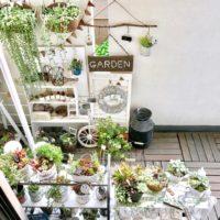 楽しくてかわいいお庭を演出する雑貨と草花のコラボレーションガーデニング♡