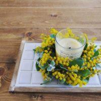 鮮やかな黄色が可愛らしい♡ミモザを取り入れてお部屋も華やかに