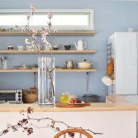 涼しげ&爽やかなお部屋に大変身!青い壁のある風景15選