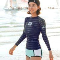 海に!プールに!おしゃれなラッシュガードで日焼け対策をしよう☆