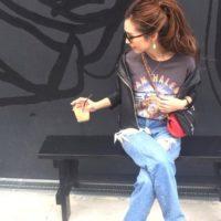 GUのロックTシャツ着回しコーデ集♪プチプラアイテムで夏のおしゃれを楽しもう!