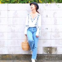 着回し上手なファッショニスタ♡武智志穂さんの選んだ2017サマーファッションはこれ!