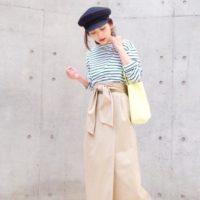 アナタにも絶対似合う帽子♡マリンキャップでシンプル大人ファッションに挑戦♪