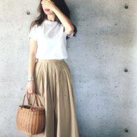 おしゃれママに人気のユニクロTシャツ3選&大人シンプルコーデをご紹介!