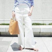 夏のホワイトパンツコーデ20選☆いつものパンツコーデを白で爽やかに♪