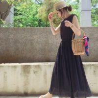 マキシスカートで夏コーデ☆ラフだけど大人っぽいマキシスカートを楽しもう♪