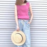 夏もピンクが着たい!パステルピンク~ビビッドピンクまで大人のピンクコーデ集♡
