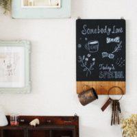 懐かしくておしゃれ♪黒板DIYでインテリアにおしゃれなアクセントをプラスしよう