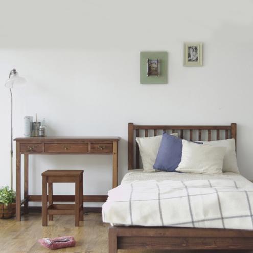 コンパクトで寝心地抜群のベッド