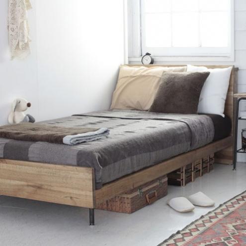 コンパクトで寝心地抜群のベッド2