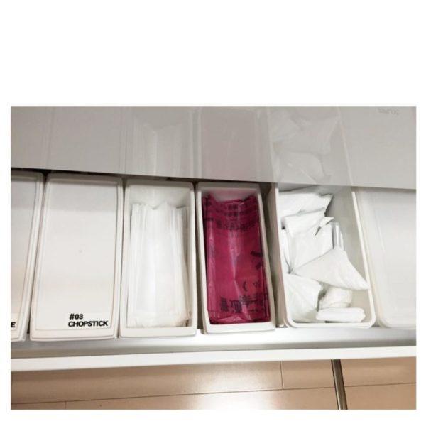 キッチン収納アイデア⑤ ゴミ袋収納実例1