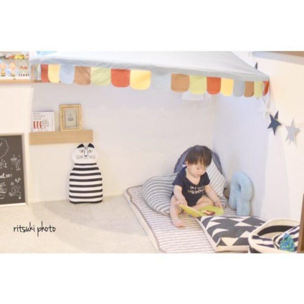 子供部屋収納2