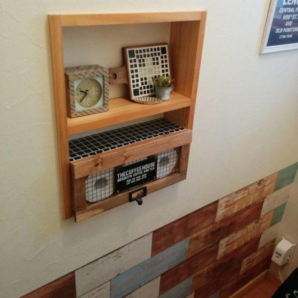 棚に収納するアイデア6