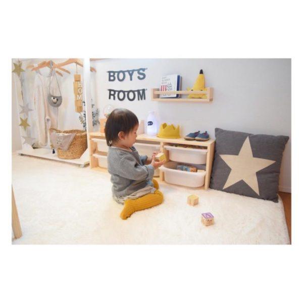 子供部屋収納12