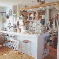 まるでカフェみたい♪お気に入りのキッチン用品は見せる収納で目から楽しもう!