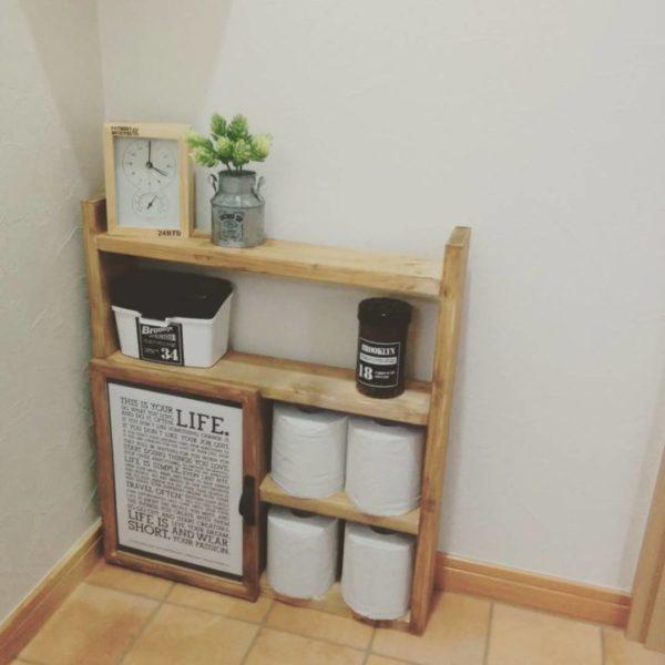 棚に収納するアイデア17