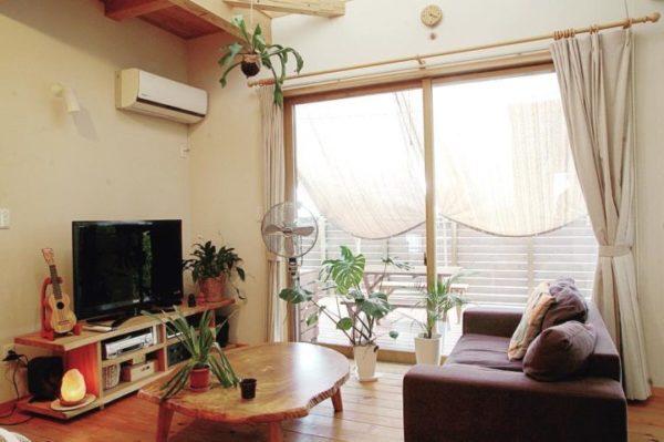 空間に合った家具の配置を大切に