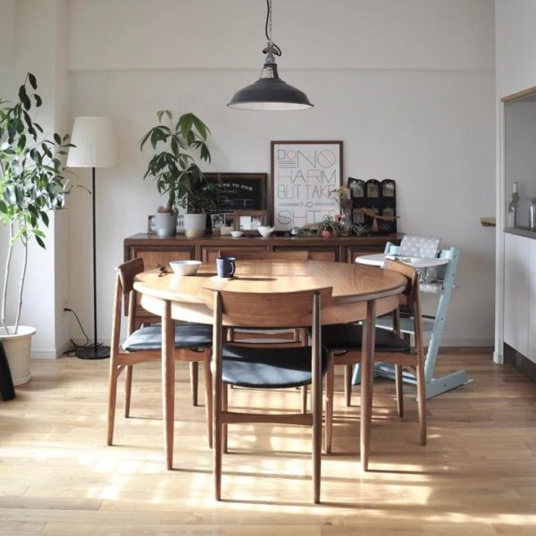 空間に合った家具の配置を大切に3