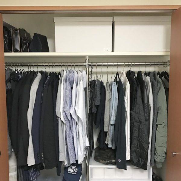 コツ③棚板上のボックスは軽い布製、紙製、バスケットがおすすめ2