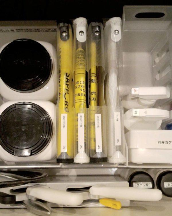 キッチン収納アイデア⑤ ゴミ袋収納実例2