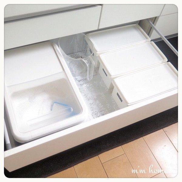 キッチン収納アイデア① 引き出し実例8