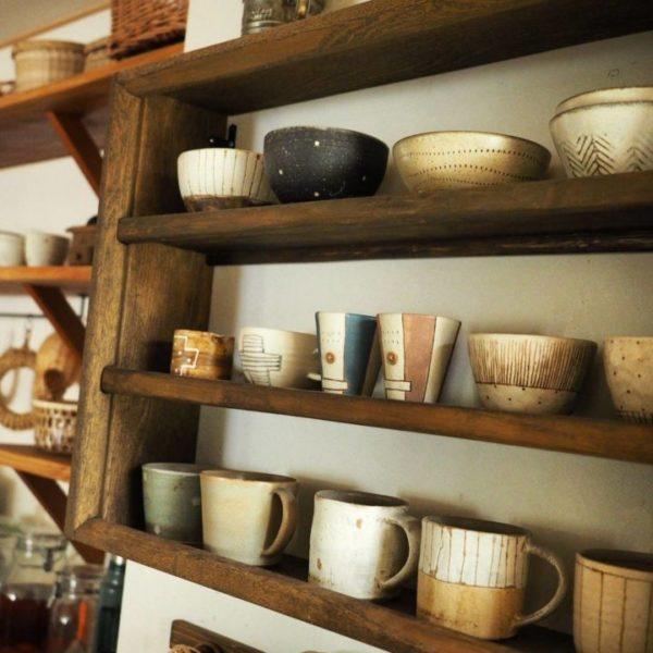 キッチン収納アイデア⑥ 壁面収納実例2