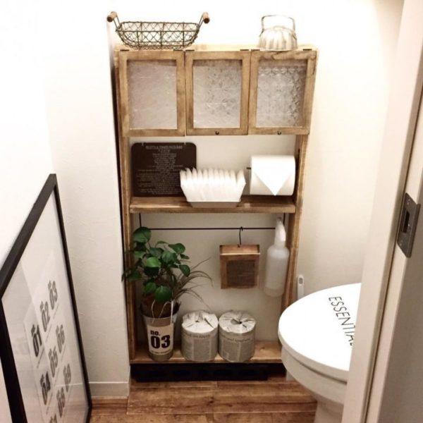 棚に収納するアイデア9