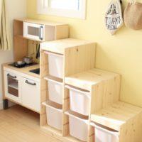 IKEAの人気アイテム!トロファストを使ってきれいに整理整頓を☆
