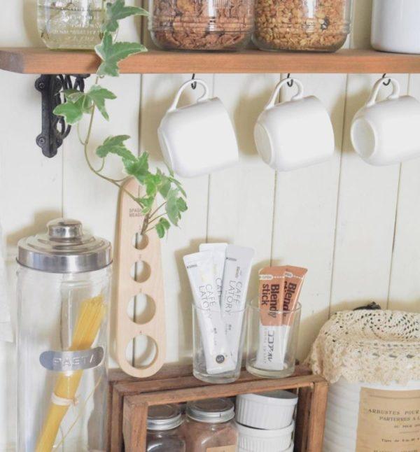 キッチン収納アイデア④ 食器類収納実例7