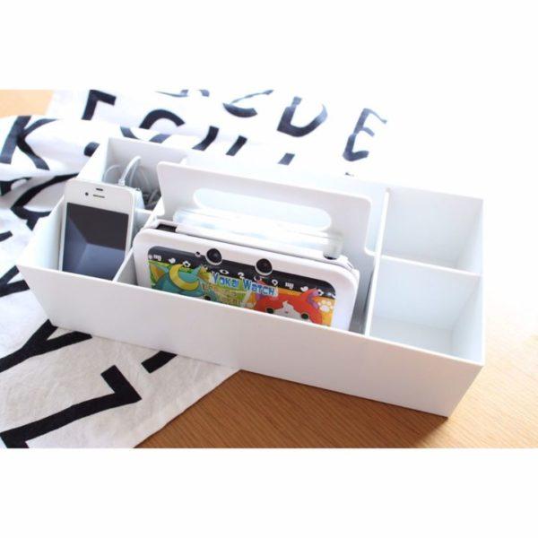 無印良品おすすめ収納アイテム③ ポリプロピレン収納キャリーボックス実例5