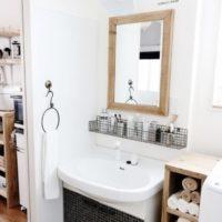 洗面所実例20選。お洒落な収納&ディスプレイのアイデアをご紹介します☆