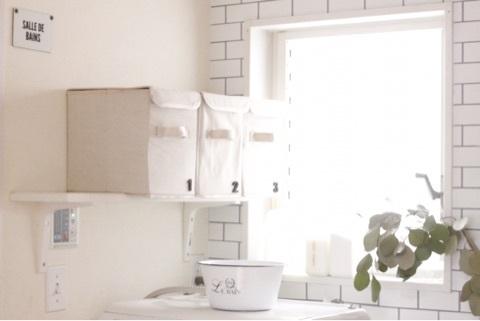 洗面所収納アイデア32