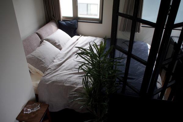 インテリアレイアウト⑦一日の疲れがしっかり取れるベッドルーム