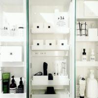 鏡裏まで有効利用しよう◎実は優秀な洗面所の「鏡裏収納」特集!