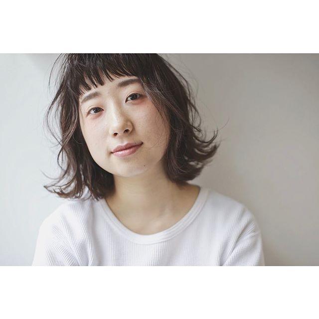 【ボブ】前髪ぱっつん髪型集11
