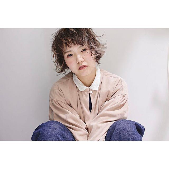 【ボブ】前髪ぱっつん髪型集12