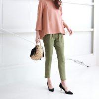 大人女子の着こなし術を大分析!色別に見るアンクル丈パンツのきれいめコーデ15選