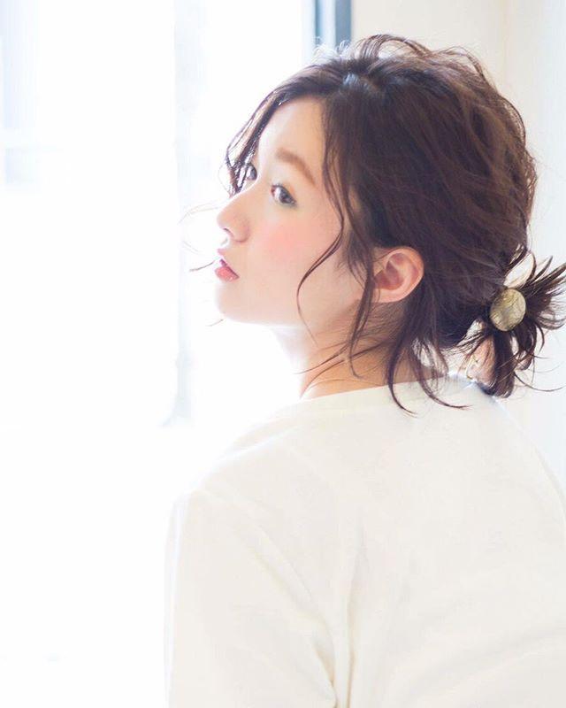 前髪アレンジ16